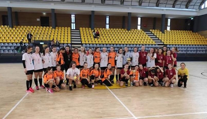 Rukometašice Osnovne škole Matije Vlačića druge na Županijskom prvenstvu
