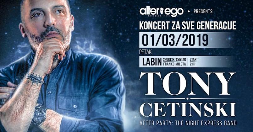 TONY CETISNKI: Sedam dana do spektakularnog koncerta u Labinu!