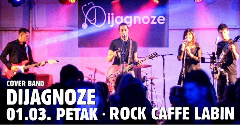 Grupa Dijagnoze ovog petka u labinskom Rock Caffeu