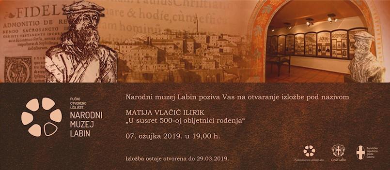 Od četvrtka originalna djela Matije Vlačića Ilirika u Narodnom muzeju Labin