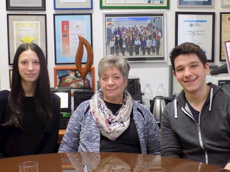 Labinski srednjoškolci izvrsni na županijskom natjecanju iz engleskog jezika | Aida Suljić i Karlo Frankola idu na državno natjecanje
