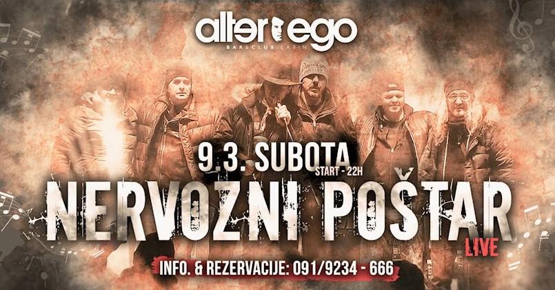 Legendarni sarajevski sastav Nervozni poštar u Alter Egu!