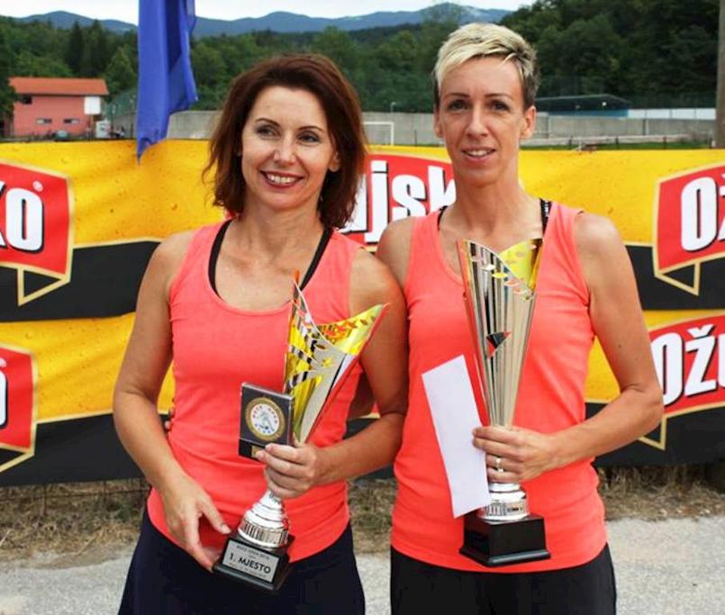 Tanja Grubiša i Nives Jelovica (BK Labin) favoritkinje u prventvu Istre u boćanju po disciplinama