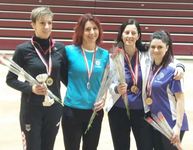 Tanja Grubiša i Nives Jelovica iz BK Labin potvrdile ulogu favoritkinja