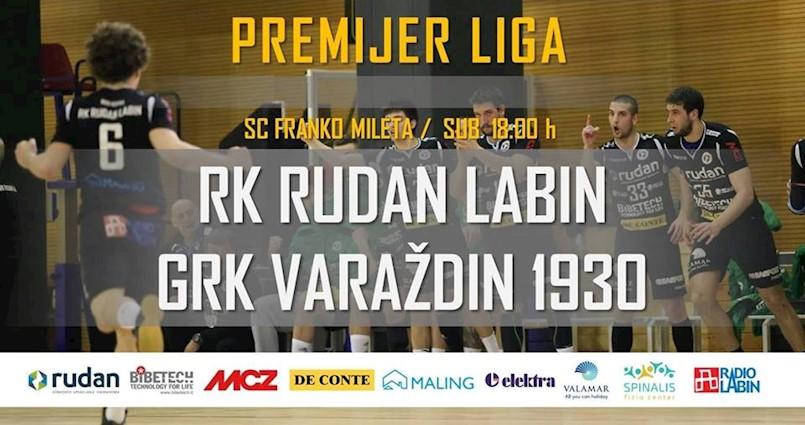 [NAJAVA] 1. kolo Premijer liga za ostanak / RK Rudan Labin - GRK Varaždin