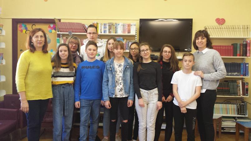 """Učenici OŠ """"Ivo Lola Ribar"""" Labin pozvani na državno polufinale HIPPO natjecanja iz engleskoga jezika"""