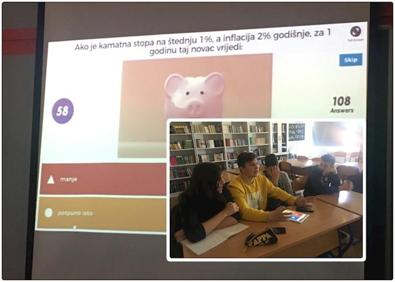 """Četvero učenika OŠ Vladimir Nazor iz Potpićna sudjelovalo u online natjecanju """"Europski kviz o novcu"""""""