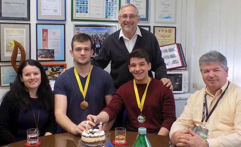 Jednostavno prvi: Marko Damjanić i Karlo Frankola državni prvaci iz informatike