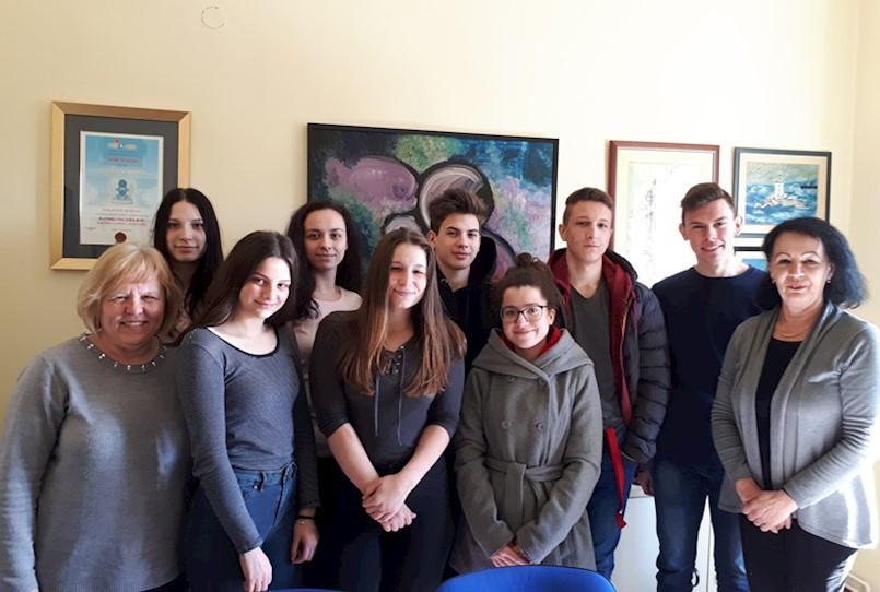 Aktivnosti srednjoškolaca u sklopu zavičajne nastave Rudarski sretno