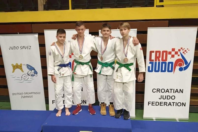 JK Ipponu dvije brončane medalje na Prvenstvu Hrvatske za juniore i djecu