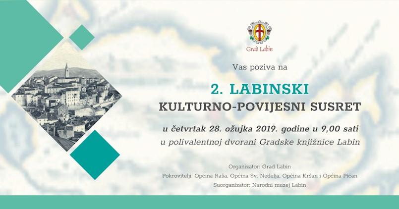 U četvrtak se održava Znanstveno stručni skup: 2. Labinski kulturno - povijesni susreti