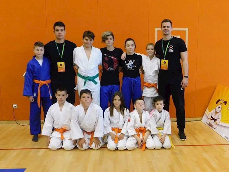 Nola Fornažar (JK Meto Labin) zlatna na judo natjecanju Sakura kup u Svetoj Nedelji