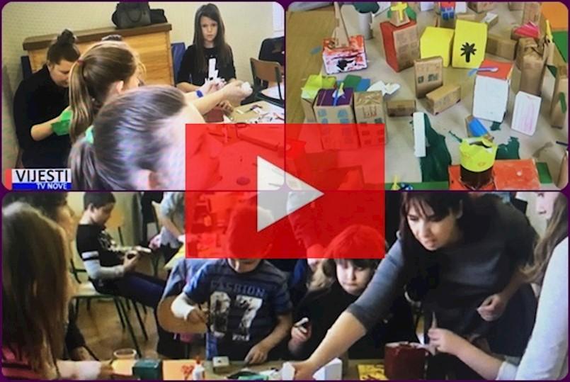 """[VIDEO] Učenici Područnih škola u Pićnu i Sv. Katarini uključili su se u projekt """"Živa coprnija-živa štrigarija"""""""