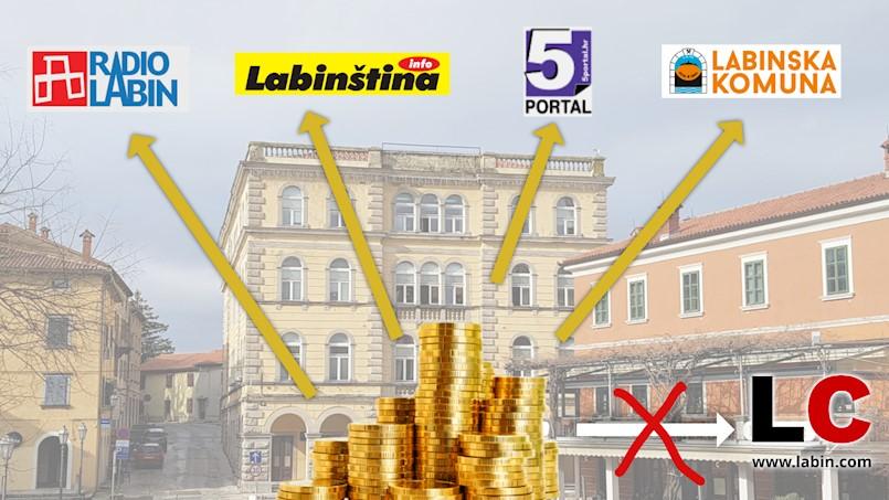 Gradsko vijeće Labina: Za informiranje javnosti 115 tisuća kuna manje