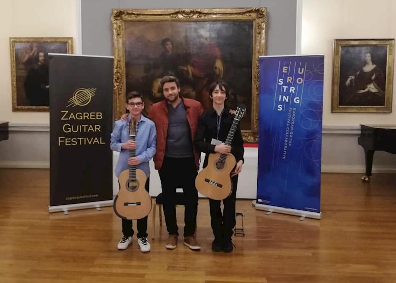 Srebrna priznanja labinskim učenicima na 5. Zagreb Guitar Festivalu