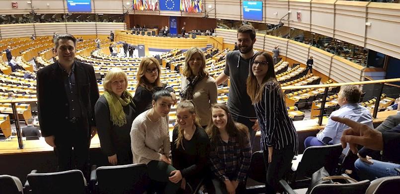 Ekonomisti Srednje škole Mate Blažine posjetili Europski parlament