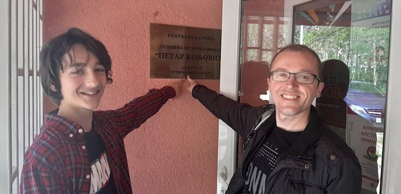 Marko Levak iz labinske Umjetničke škole osvojio prvu nagradu na Međunarodnom natjecanju iz teorije glazbe u Beogradu