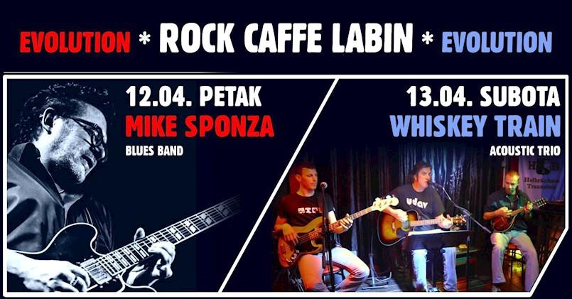 [NAJAVA] Mike Sponza i Whiskey acoustic trio ovog vikenda u labinskom Rock Caffeu
