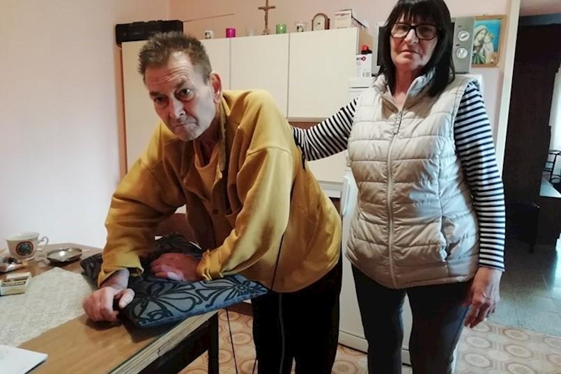 Onkološki bolesnik Franko Licul bori se s jakim bolovima, ali za njega nema kreveta u labinskom stacionaru