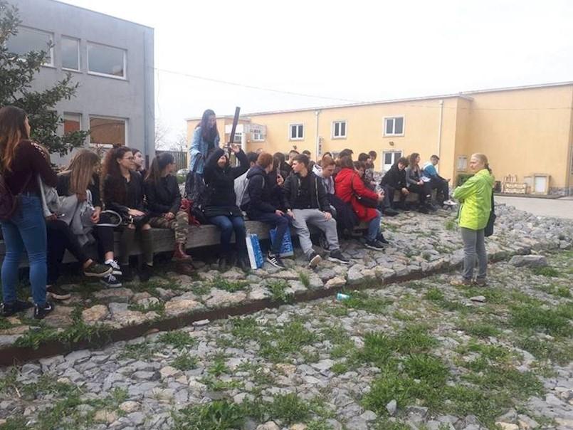 Učenici iz Barija u posjeti Labinu i Srednjoj školi Mate Blažine u sklopu projekta ATRIUM PLUS