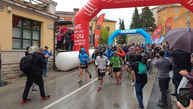 [VIDEO] U Labinu startalo 7. izdanje 100 Milja Istre - najveće međunarodne trail utrke u RH