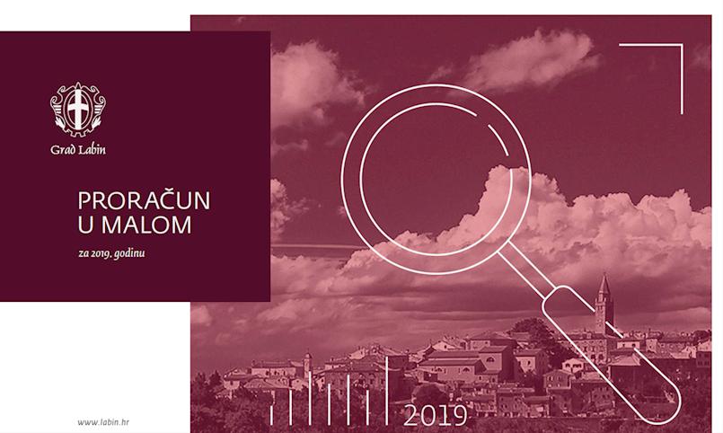 Proračun u malom Grada Labina za 2019. godinu
