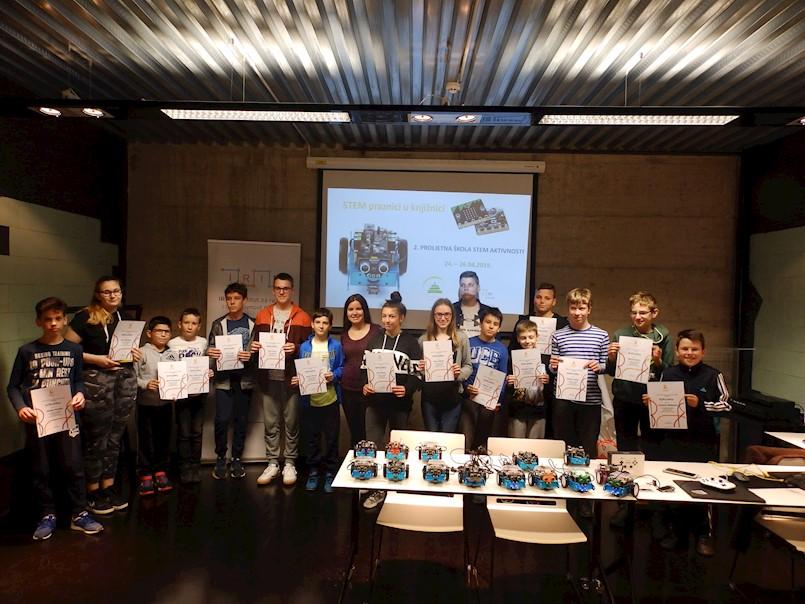 Održana 2. proljetna škola STEM aktivnosti u Gradskoj knjižnici Labin