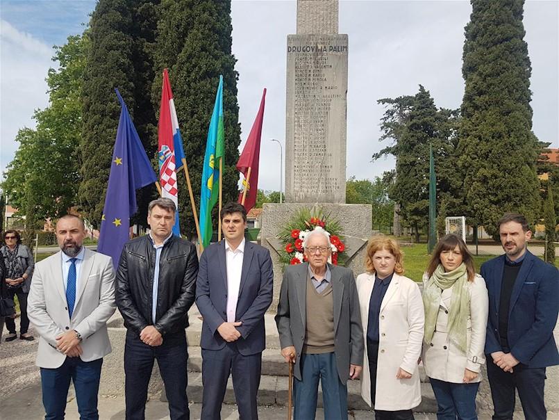Polaganjem vijenca svečano obilježena 74. obljetnica Dana oslobođenja Labinštine