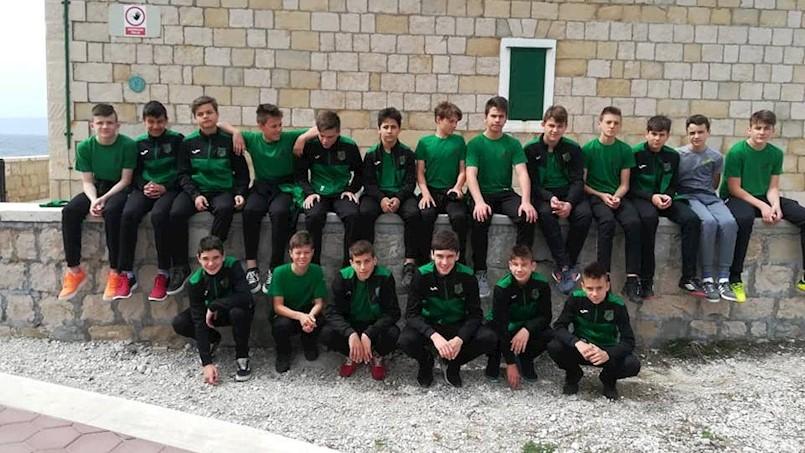Mladi nogometaši Rudara sudjelovali na međunarodnom turniru 'Makarska Cup'