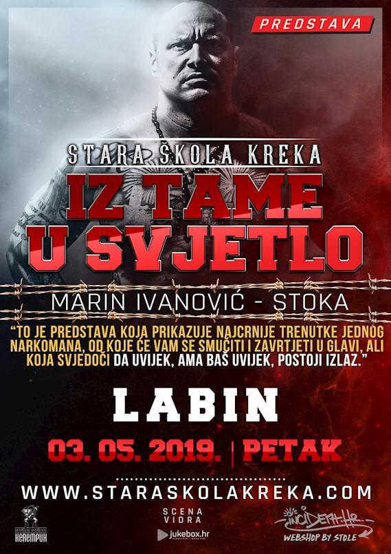 """U petak besplatna predstava """"Iz tame u svjetlo"""" poznatog repera Marina Ivanovića Stoke"""