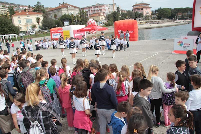 Velika Turneja radosti Plazma Sportskih igara mladih stiže u Opatiju