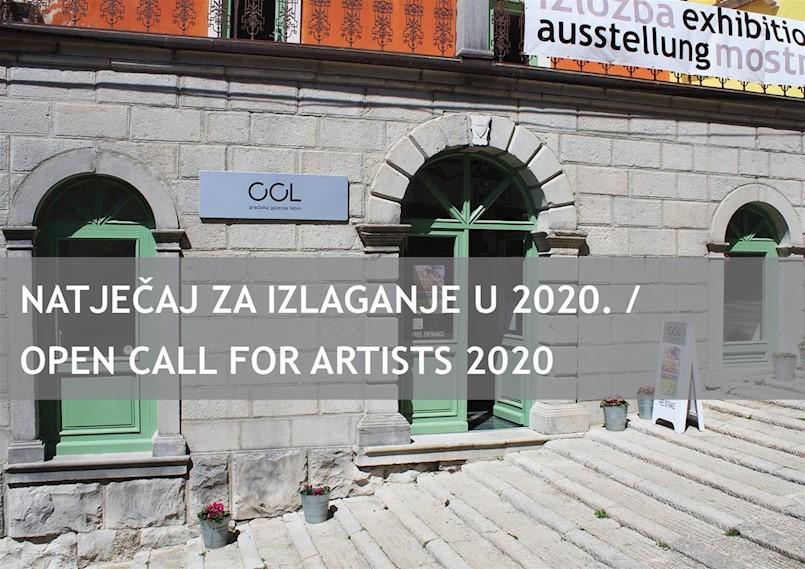 Raspisan natječaj za izlaganje u Gradskoj galeriji u 2020. godini