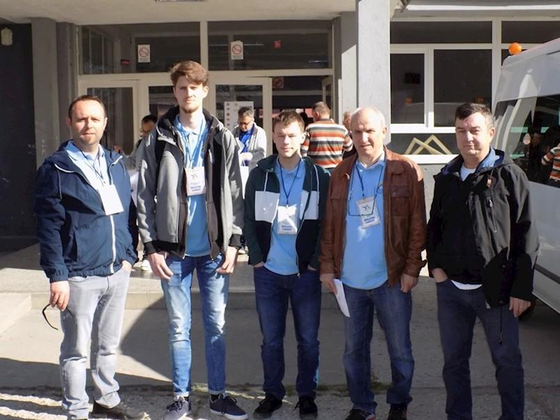 Elektrotehničari Dalen Grdić i Noa Bertović  iz labinske Srednje škole 4. na međunarodnom natjecanju Balkan junior 2019.