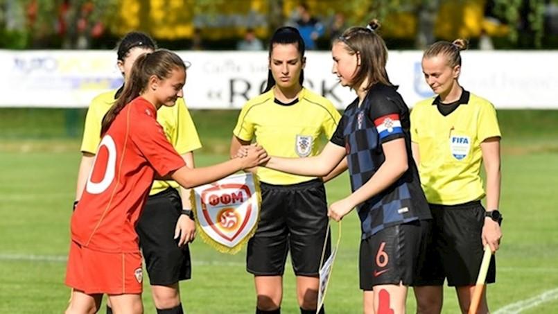 Labinjanka Tara Verbanac kapetanica U16 nogometne reprezentacije