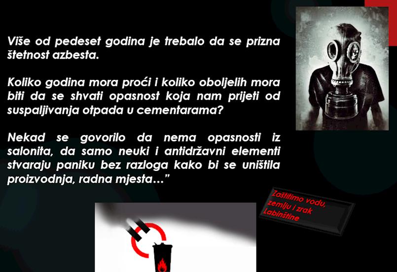 [MATERIJALI] Zajednice građana Labinštine reagira na odgovor Holcima Koromačno | Cementare - promotori civilizacijske zaostalosti | Reagiranje: Holcim posluje odgovorno