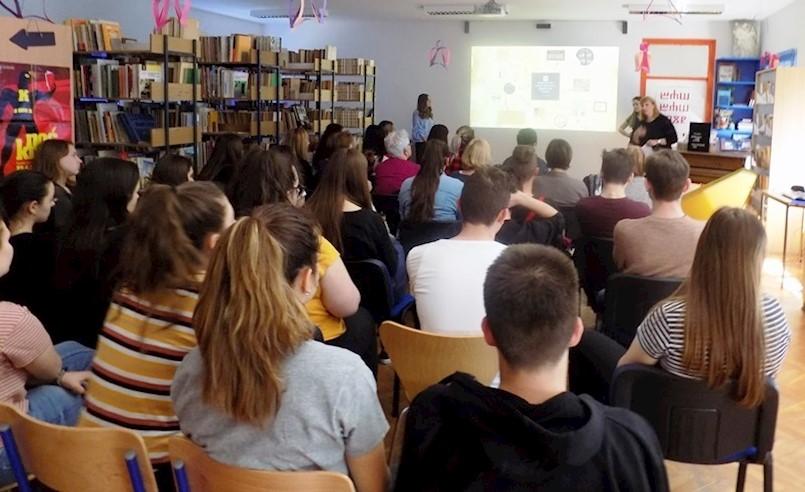 Festival povijesti Kliofest održao se i u Srednjoj školi Mate Blažine
