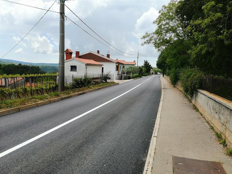 Obilježena signalizacija – gotova cesta kroz Vinež