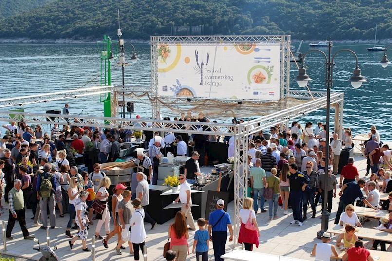 """Zbog održavanja """"Festivala kvarnerskog škampa"""" obustavit će se promet na rabačkoj rivi"""