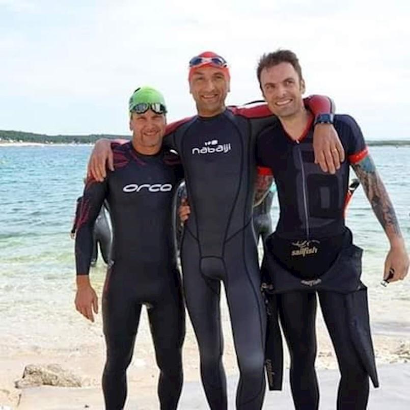 Triatlonici Albone Extrem na natjecanjima u Premanturi i Mošćeničkoj Dragi