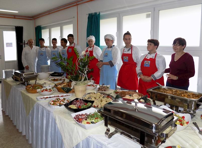 U labinskoj Srednjoj školi održan Gastro domjenak 2019