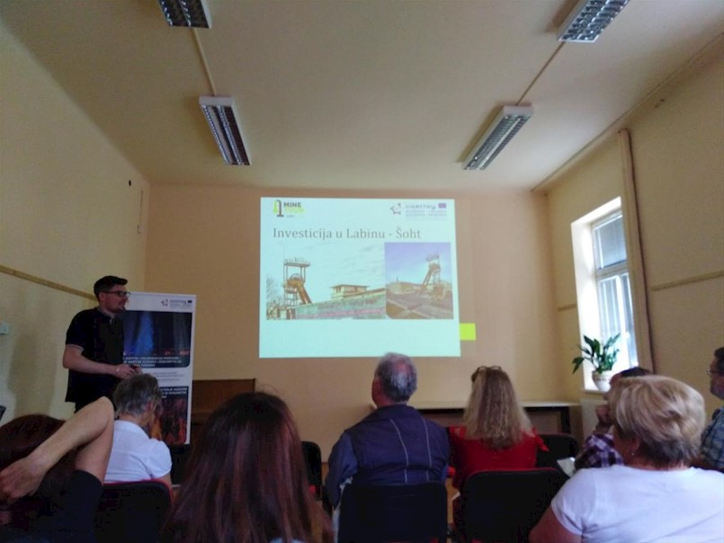 U Gradskom muzeju Litija održana prva radionica dionika u sklopu projekta MINE TOUR