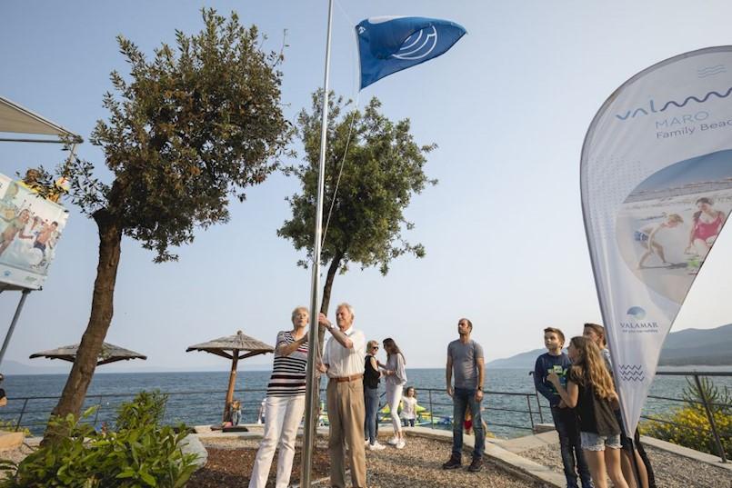 Po 18. put svečano podignuta Plava zastava