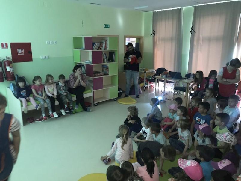 """Zelene navike za održivu Labinštinu: Održana radionica u DV """"Kockica"""""""