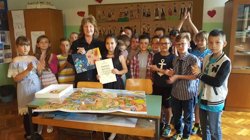 Nadija Mišon osvojila 2. mjesto na Natječaju za izradu likovnih, literarnih i foto radova