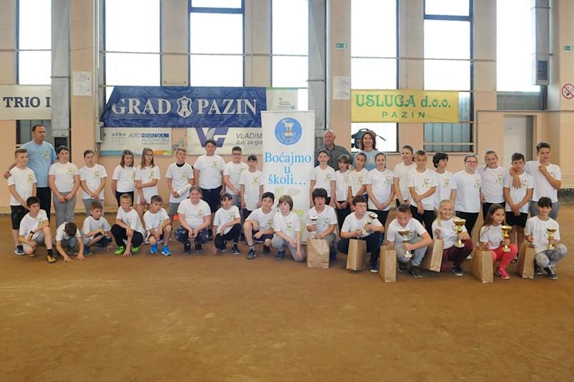 Josip Griparić i Leo Bernaz među najboljim učenicima  u velikom finalu  Boćajmo u školi