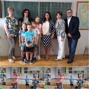 Predstavnici veleposlanstva Rumunjske posjetili školu u Šušnjevici