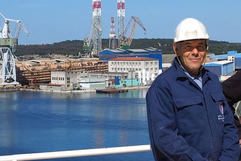 UMRO JE POZNATI ULJANIKOV PROJEKTANT |  Đani Dundara iz Plomina je nedavno posljednji put prošao kroz portun brodogradilišta