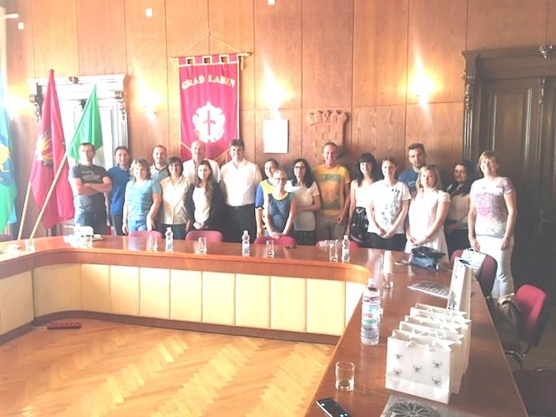 Djelatnici uprave Općine Trbovlje u jednodnevnom posjetu Labinu i Rapcu