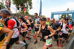 Labinski triatlonci na Rijeka trailu i polumaratonu u Fužinama