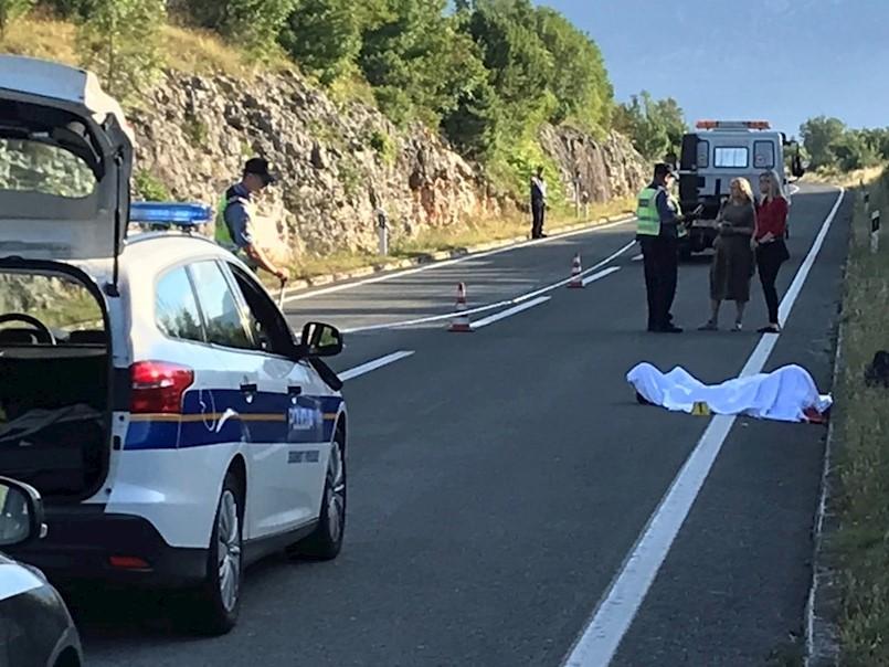 VIDEO / Na cesti Vozilići - Tunel Učka, kod skretanja za Kršan, kamion NALETIO NA PJEŠAKA KOJI JE SMRTNO STRADAO